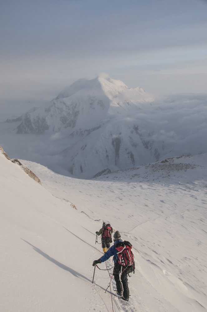 Descending the Autobauhn after a successful summit.