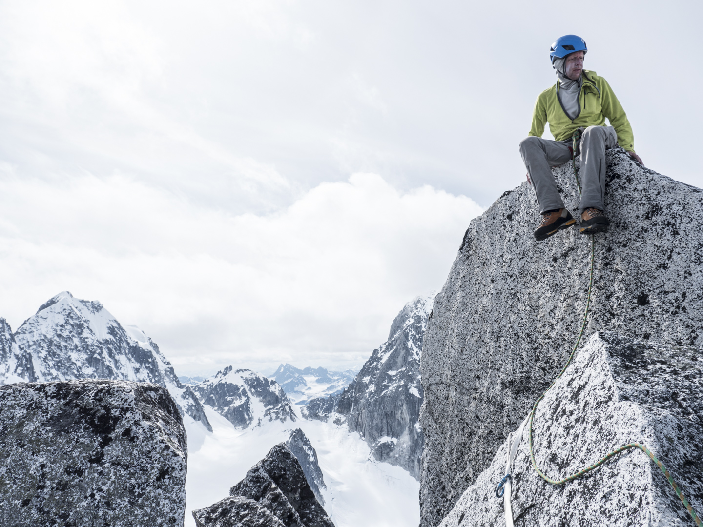 Me on the summit of Middle Troll.