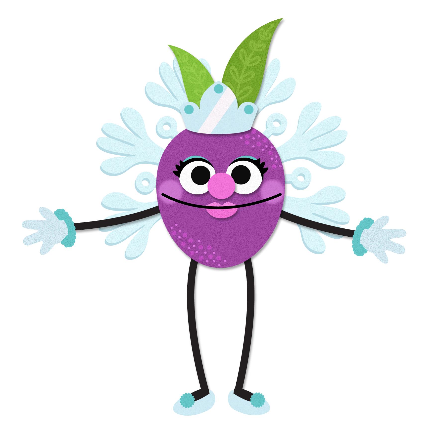 Dancing Sugarplum © Sesame Workshop