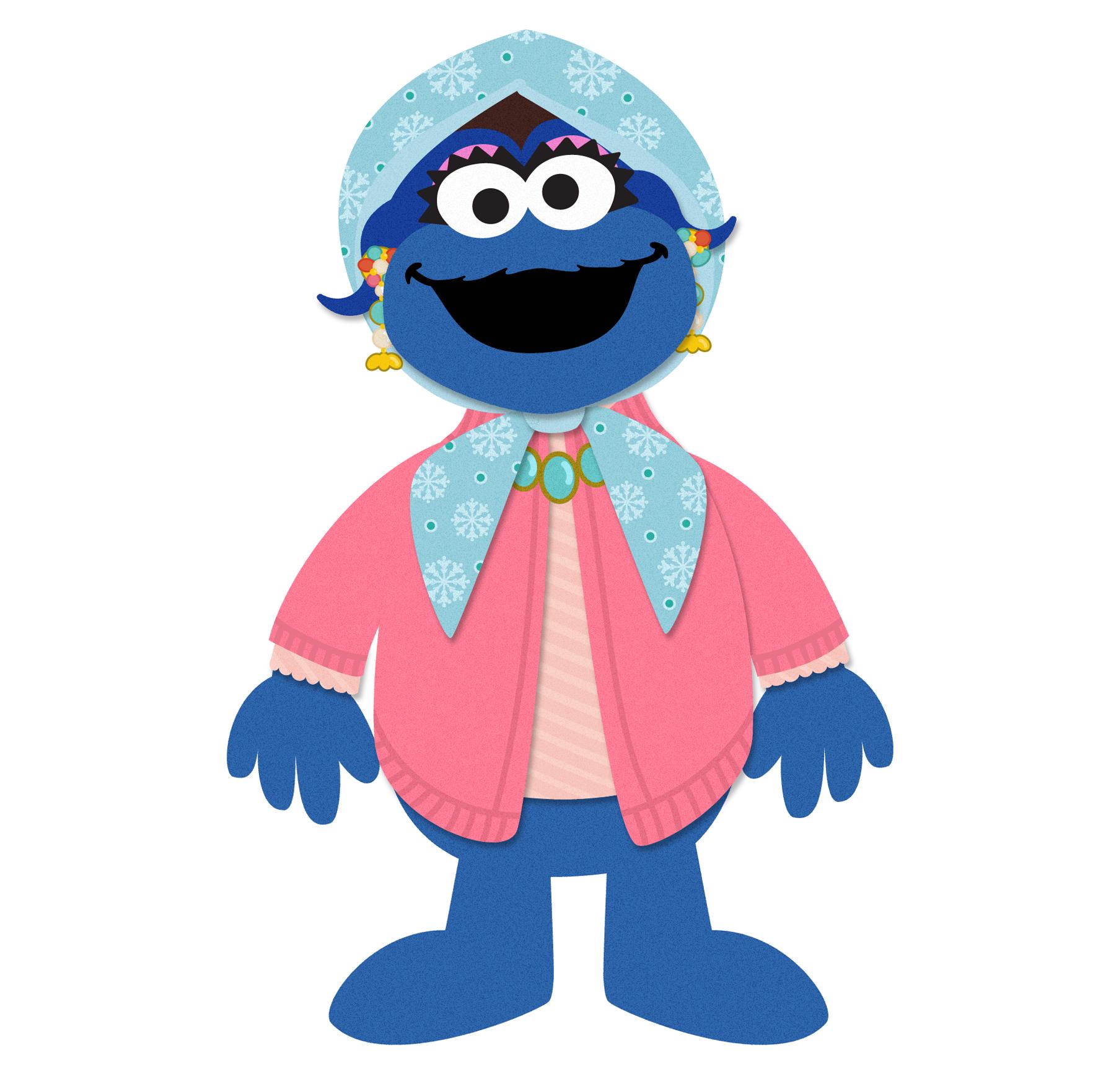Cookie Monster's Mommy © Sesame Workshop