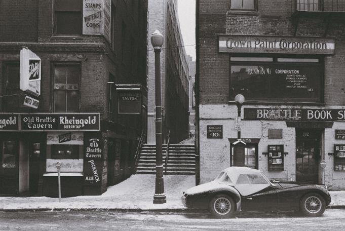 The Brattle Book Shop Circa 1950