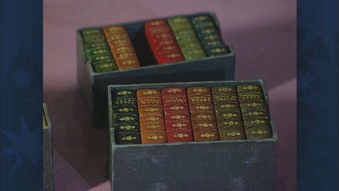 1862 Miniature Children's Books--Madison 2015