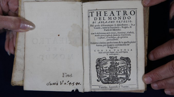 "1655 Ortelius ""Theatro Del Mondo"" Atlas--Madison 2010"