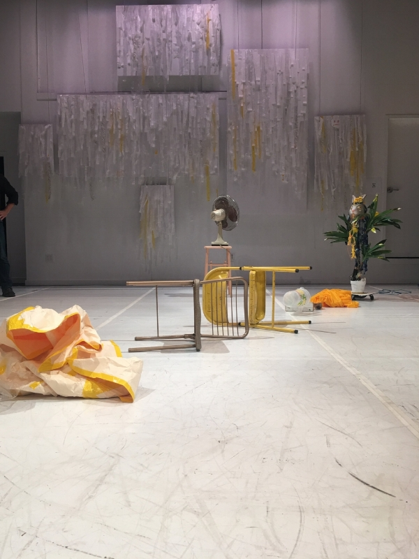Alexa Eisner, Image after the show at CounterPulse