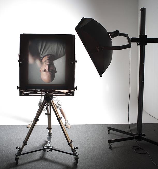 Self Portrait through 20x24 Wisner