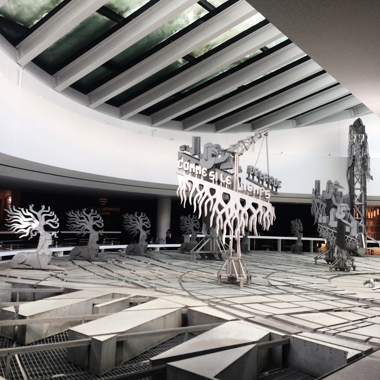 The Musée d'art contemporain de Montréal