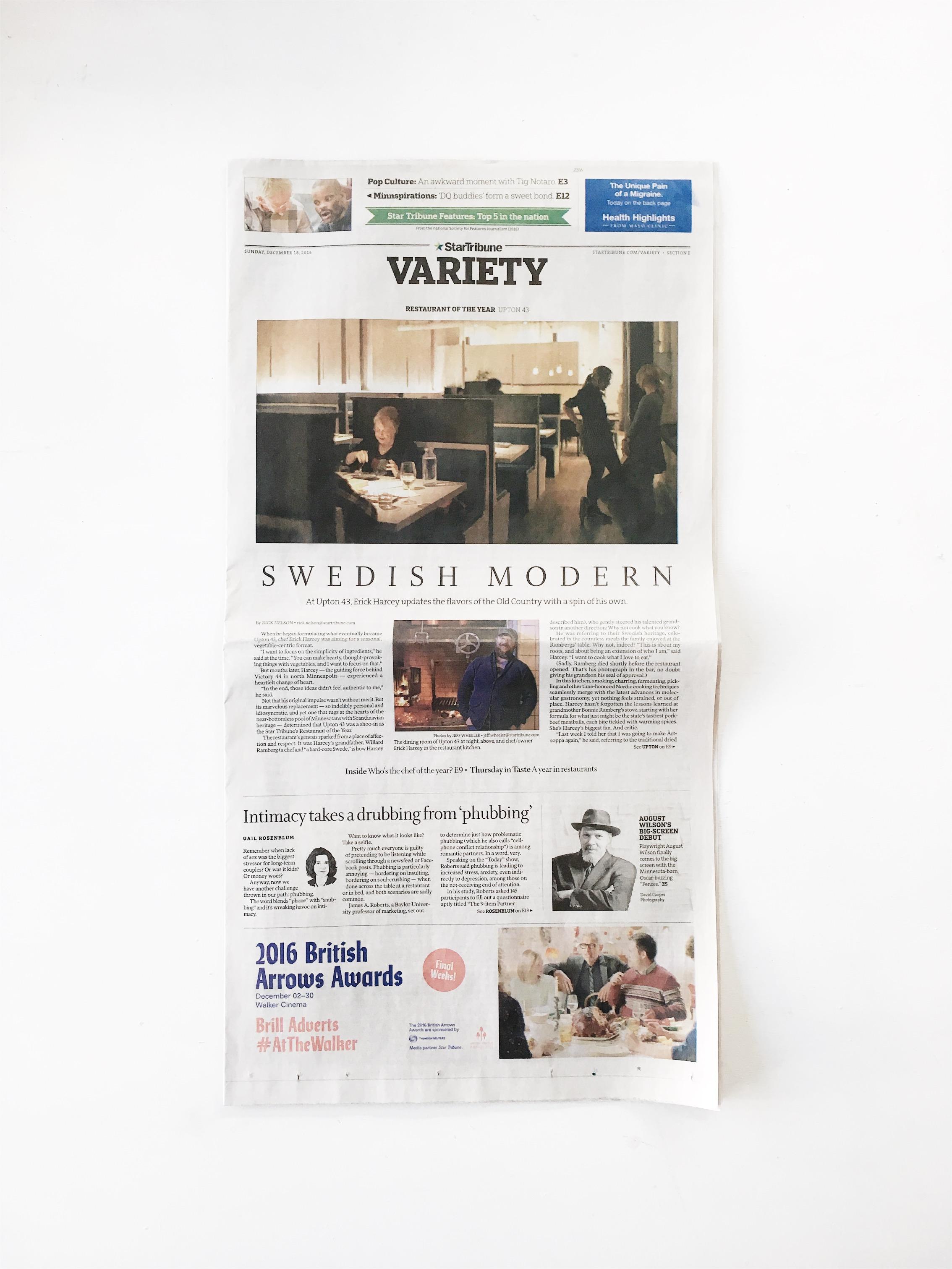 Star Tribune  Swedish Modern
