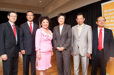 President of the WACCC and the Honourable Penny Wong MP