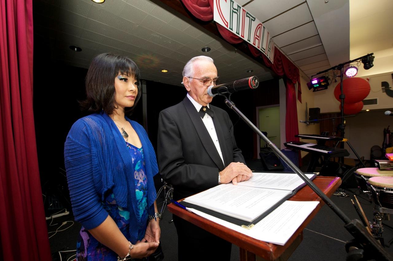 Co-Presenter at the Chitalian Bi-Annual Dinner - The Italian Club, Perth, WA