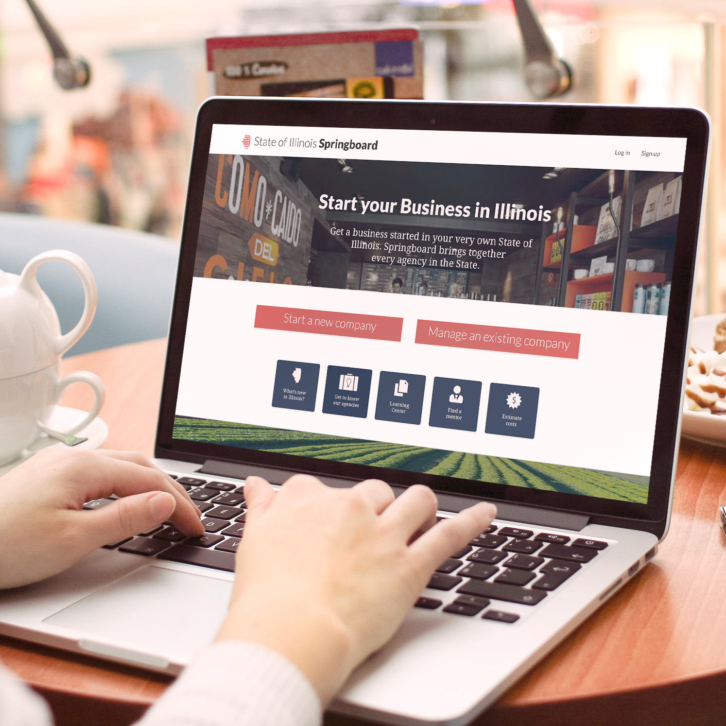 One Stop  - A new business portal for the State of Illinois