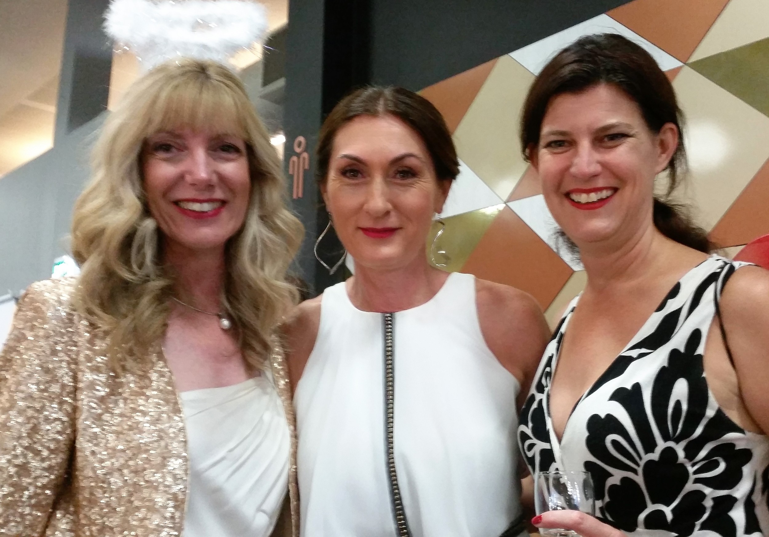 Influential 100 Awards, Perth, WA with Fleur Allen from Out of the Box and Lisa Evans from Speaking Savvy