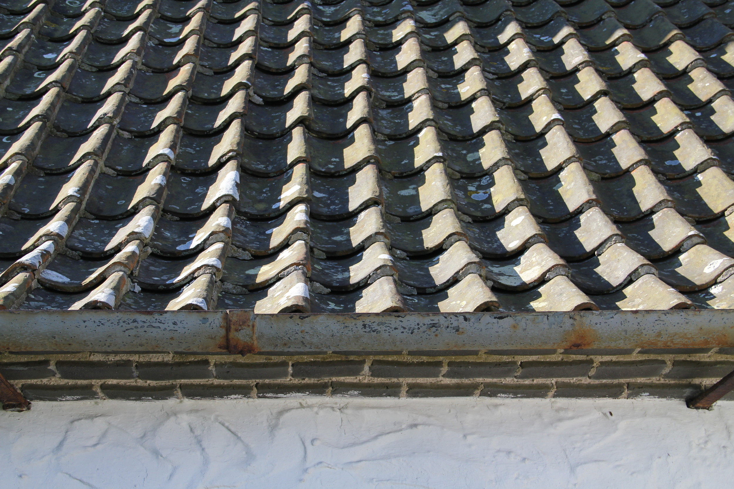 Grey pantile roofs