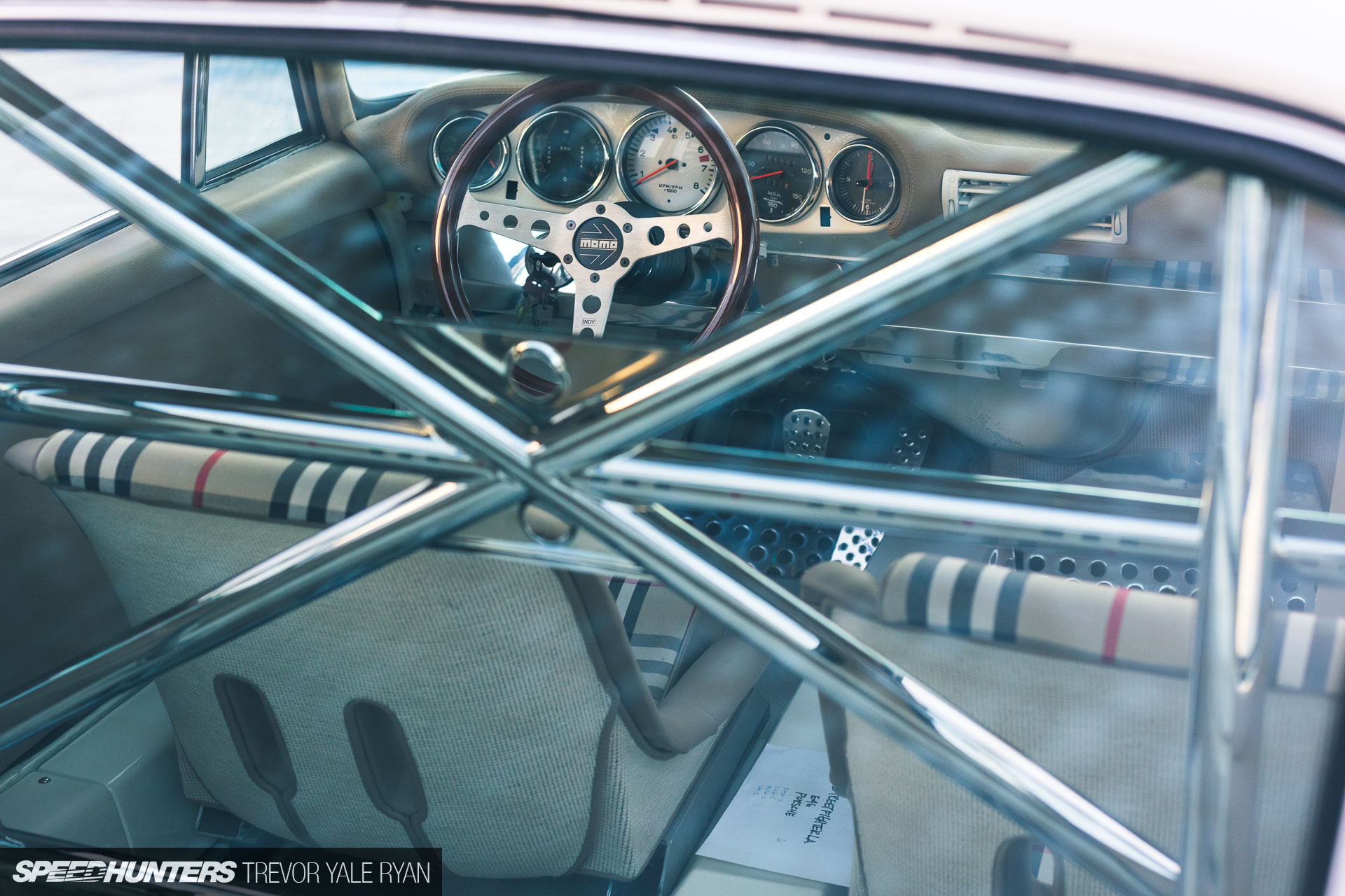 Dylan Coleman 's 1977 Porsche 911 Coupe ( StreetFighter LA 's E-RWB); Copyright  Trevor Yale Ryan  (via  Speedhunters )
