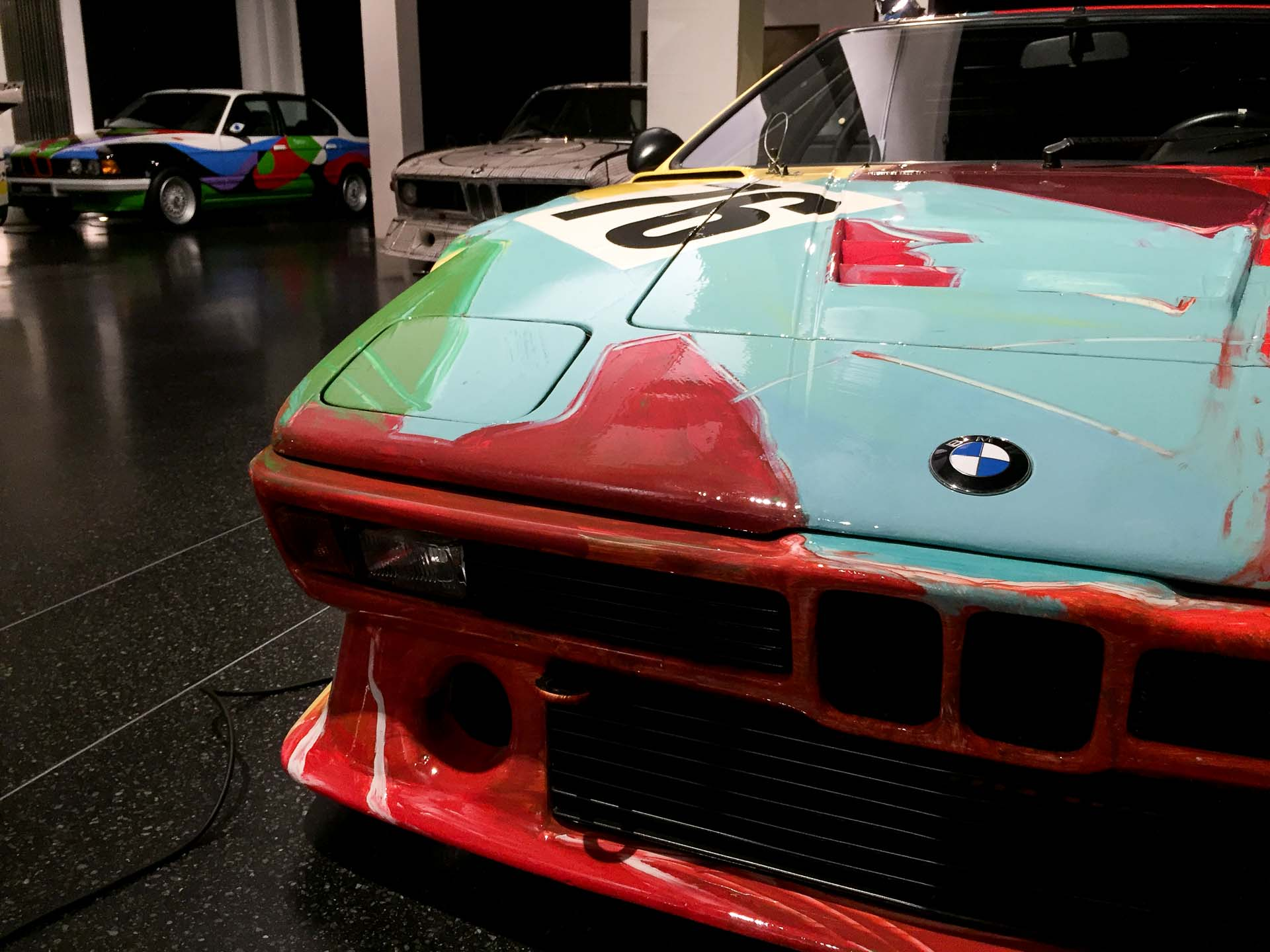1979 BMW M1 Group 4, Andy Warhol