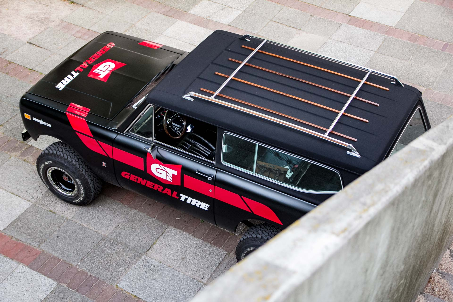 "1972 International Harvester "" General Tire "" Scout II"