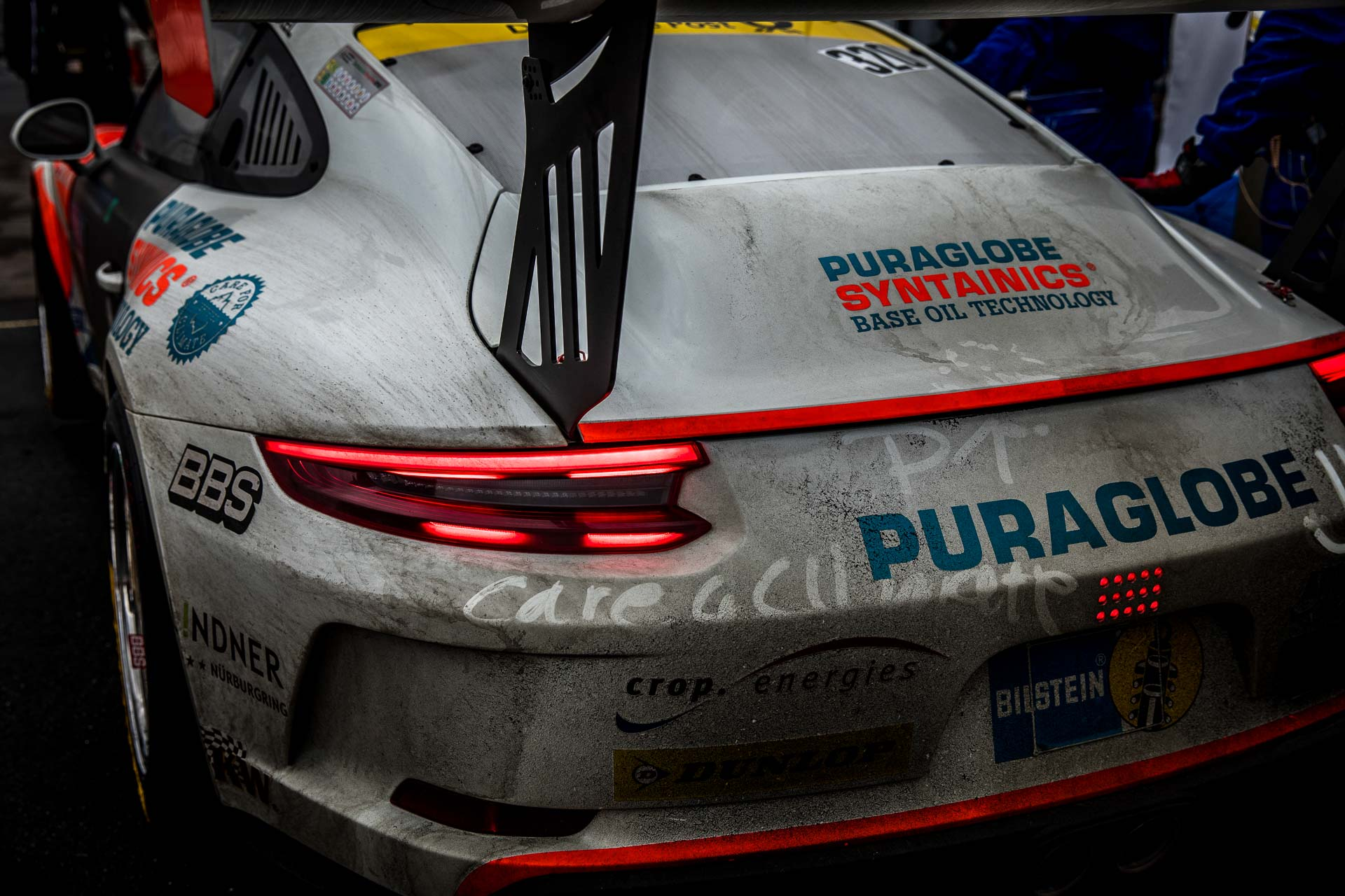 Team CARE FOR CLIMATE® – Four Motors Bioconcept-Car Porsche 911 GT3 Cup