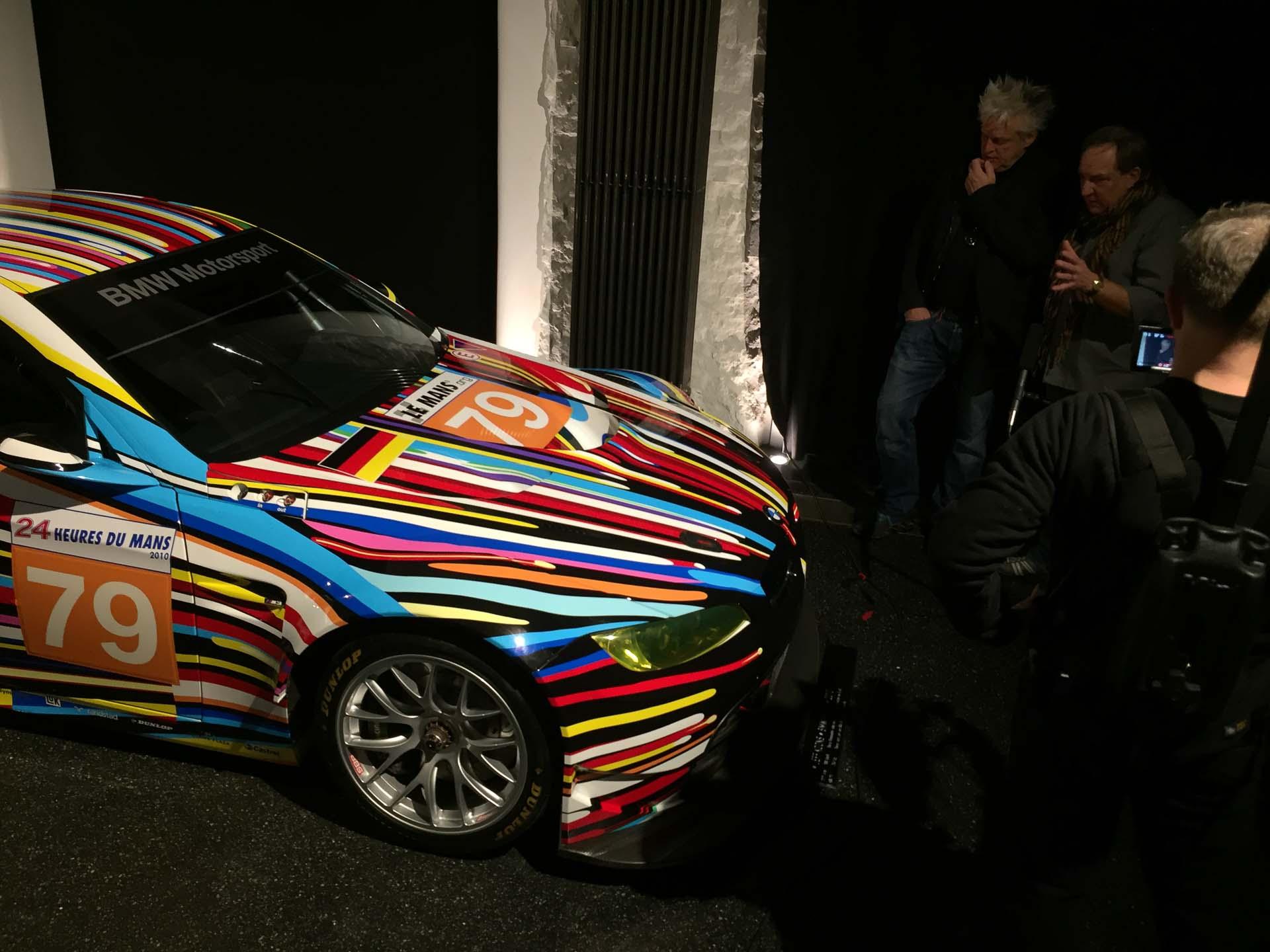 2010 BMW M3 GT2, Jeff Koons