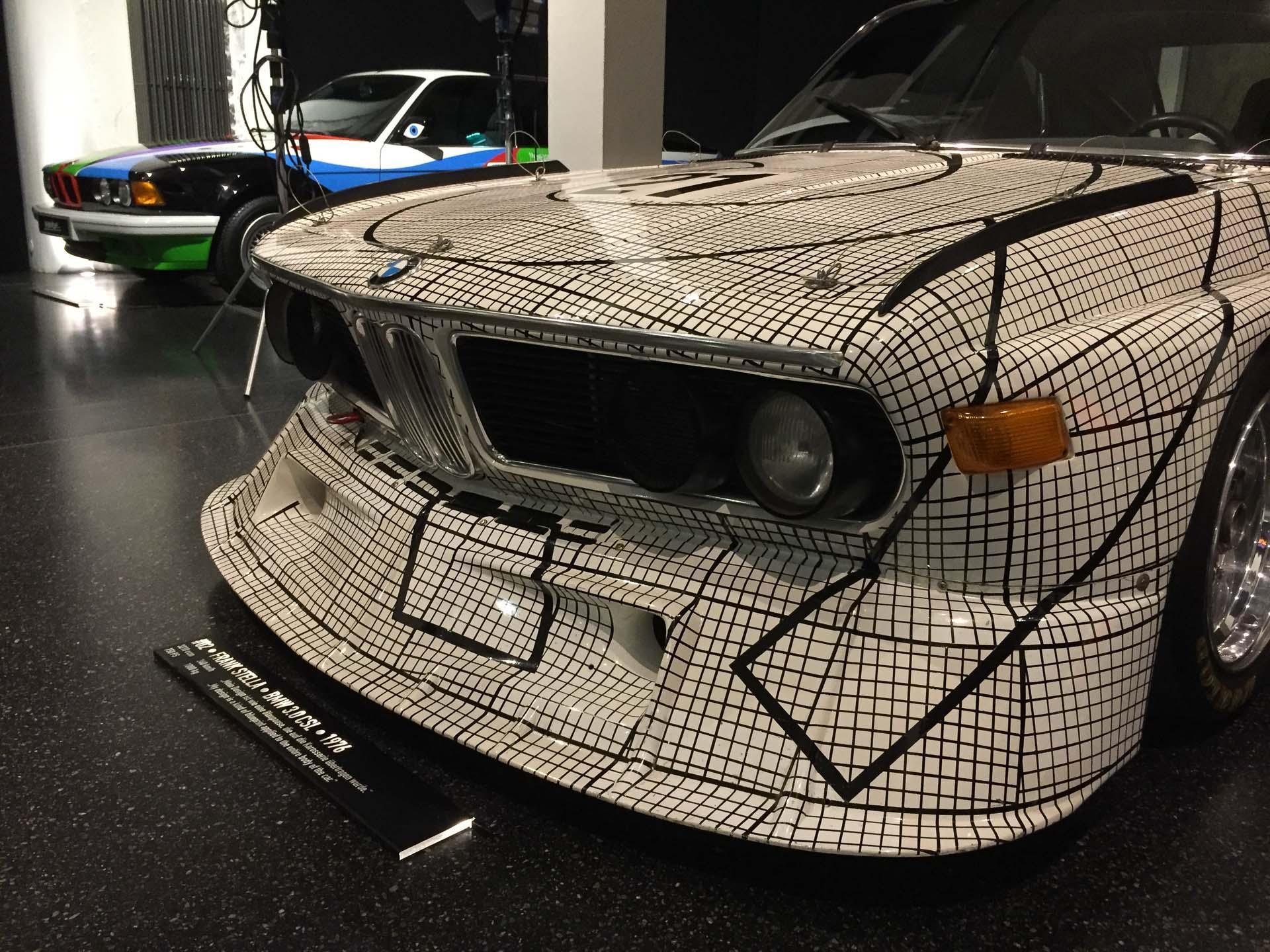 1976 BMW 3.0 CSL, Frank Stella