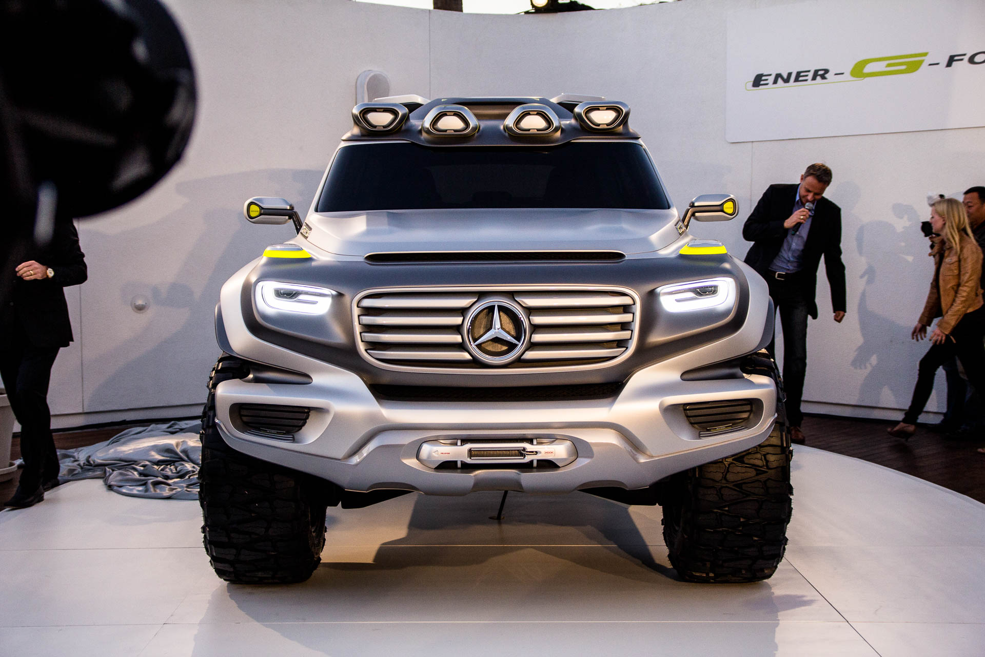 Mercedes-Benz G-Class Vision Ener-G-Force (design study)