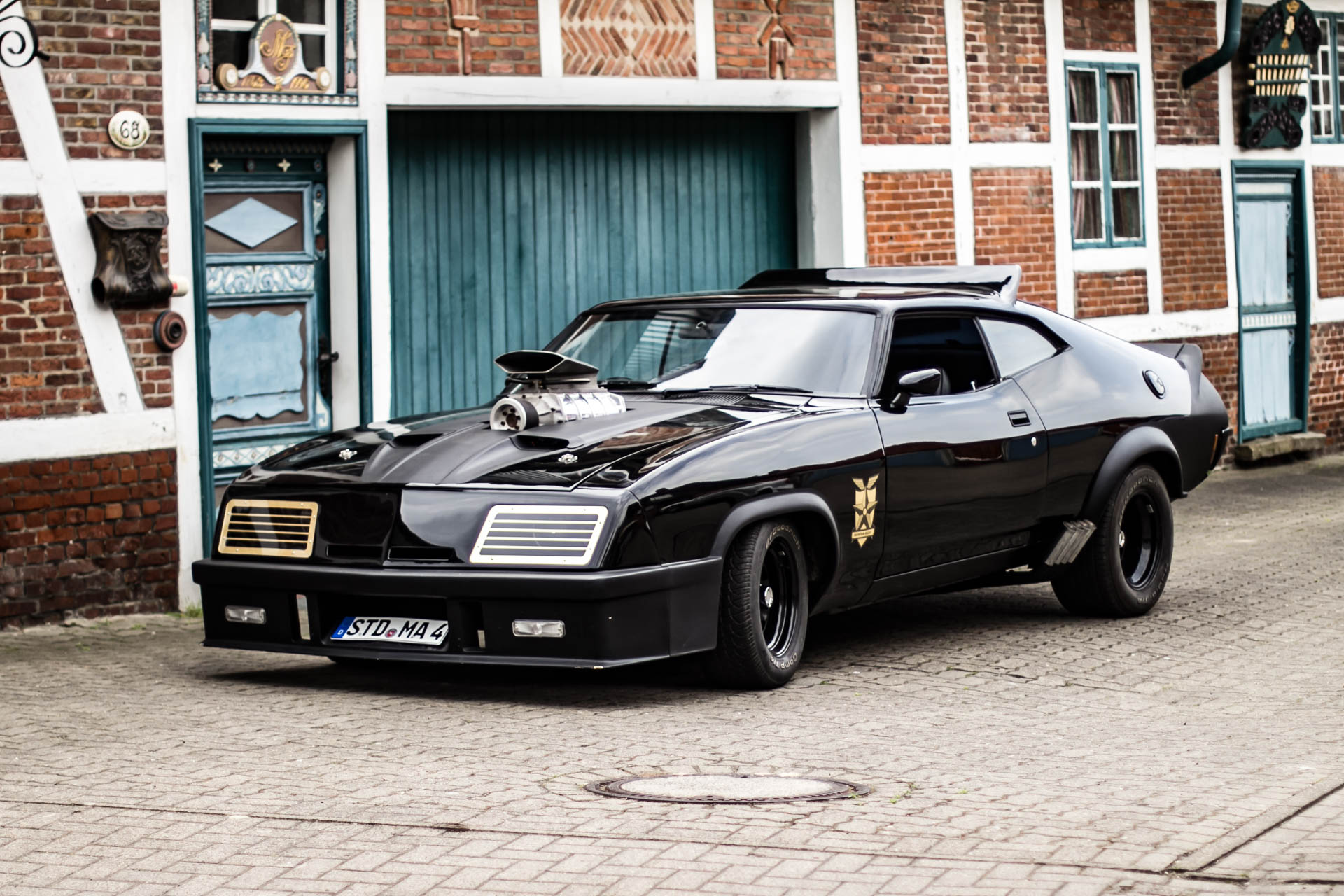 "1973 "" Mad Max "" Ford Falcon XB GT (Hamburg)"