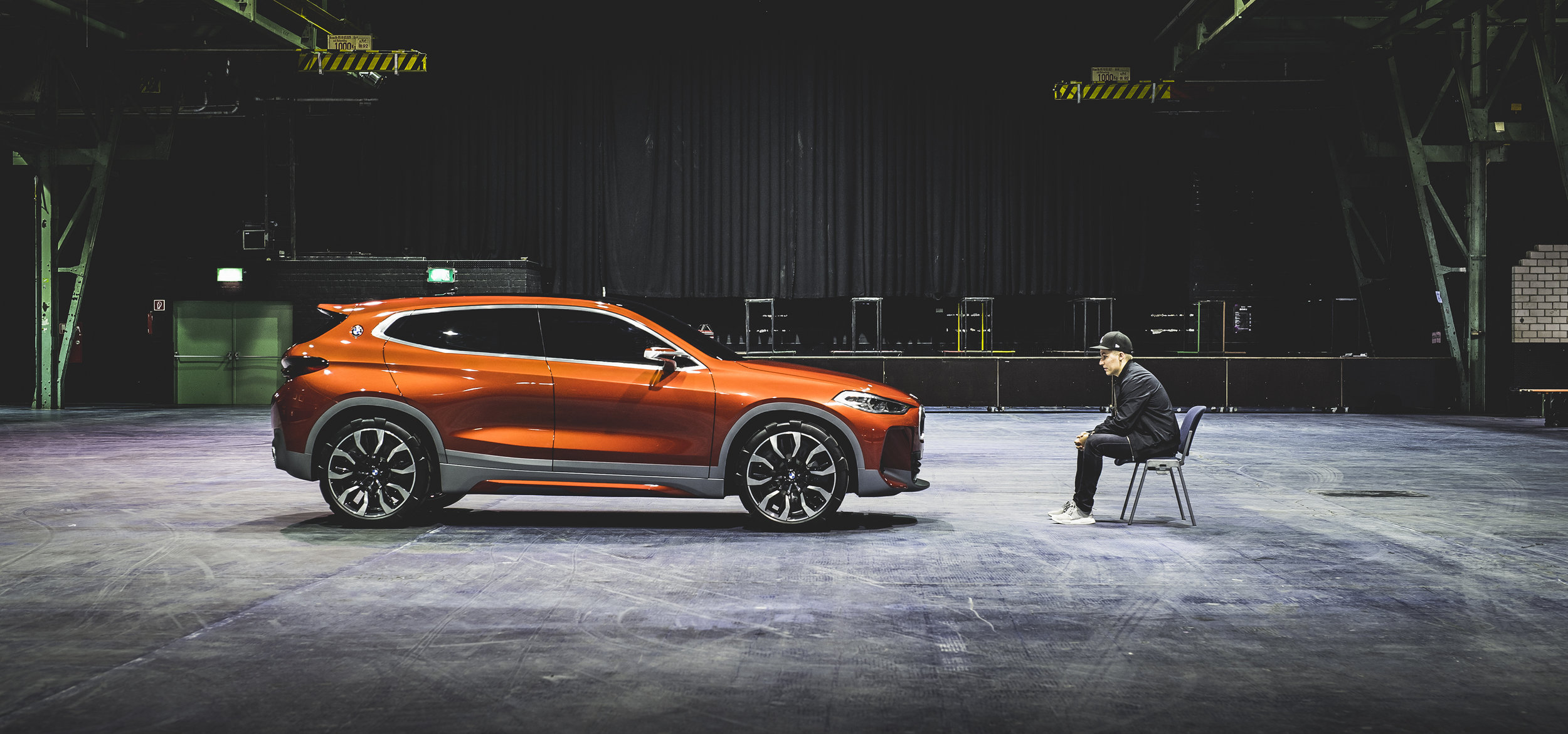 2017 BMW Concept X2, Kim-Christopher Granz