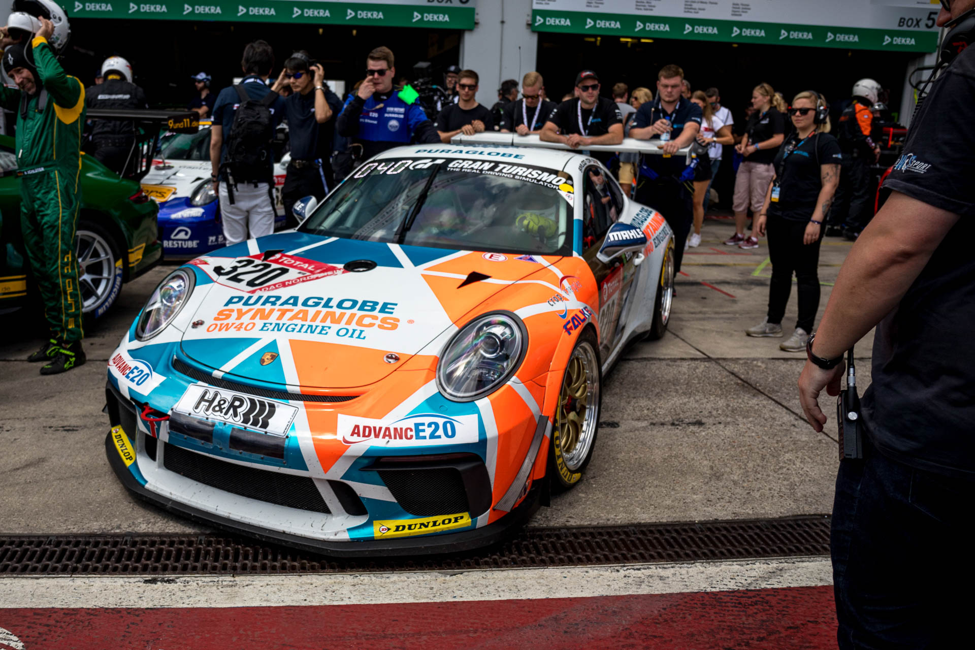 Team CARE FOR CLIMATE: 24h-Rennen Nürburgring 2019