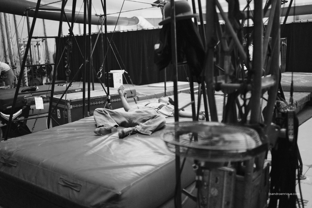 """Cirque du Soleil - Argentina - www.lisandroenrique.com  Cirque du Soleil. An intimate backstage record. The world's largest and most recognized Circus, """"Cirque Du Soleil"""". Being able to record these moments for me was very intense and grateful to had had this unique opportunity."""