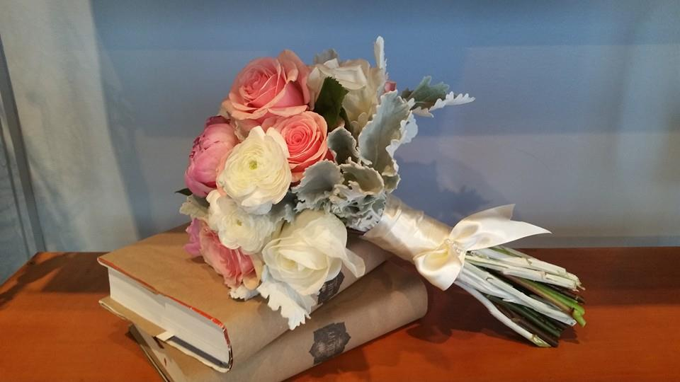 rose & dusty miller bouquet 2014.jpg