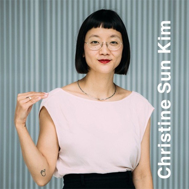 Meet @MITMediaLab 2015 director's fellow @chrisunkim, a sound artist who has been deaf since birth. She uses the medium of sound through technology and conceptual art to directly connect with society at large. She rationalizes and reframes her relationship with sound and spoken languages by using the audience's voice as her own, conducting a group of people to sing with facial movements (rather than sound), and composing visual scores with sign language and musical symbols.