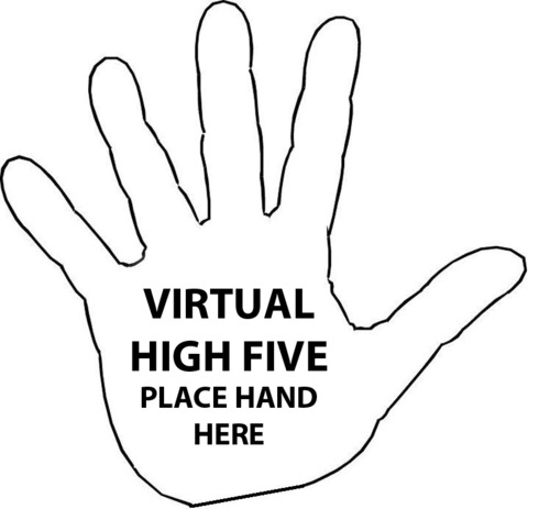 This is the wrong answer to my question. No high five for you.