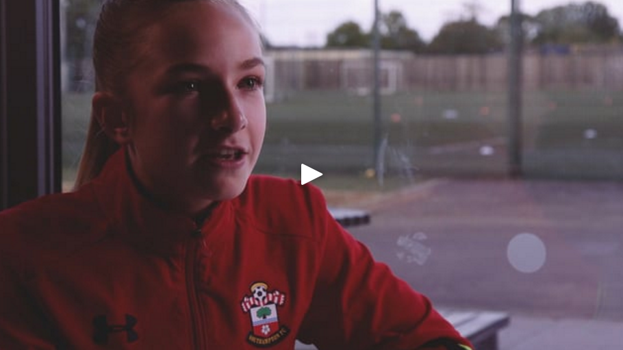 Southampton Football Club - Same Game Campaign. A series of videos to support the club's marketing campaign to promote their female football team.