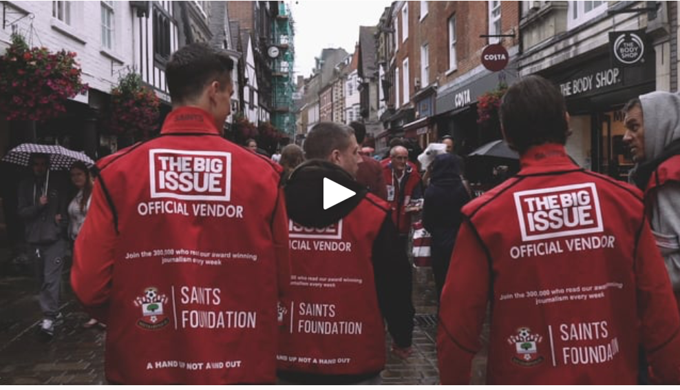 The Saints Foundation teamed up with the Big Issue to launch an Employability Programme to help the local community develop job-ready skills. Bullet created two films for this project and produced a short behind the scenes film to show how it was made.