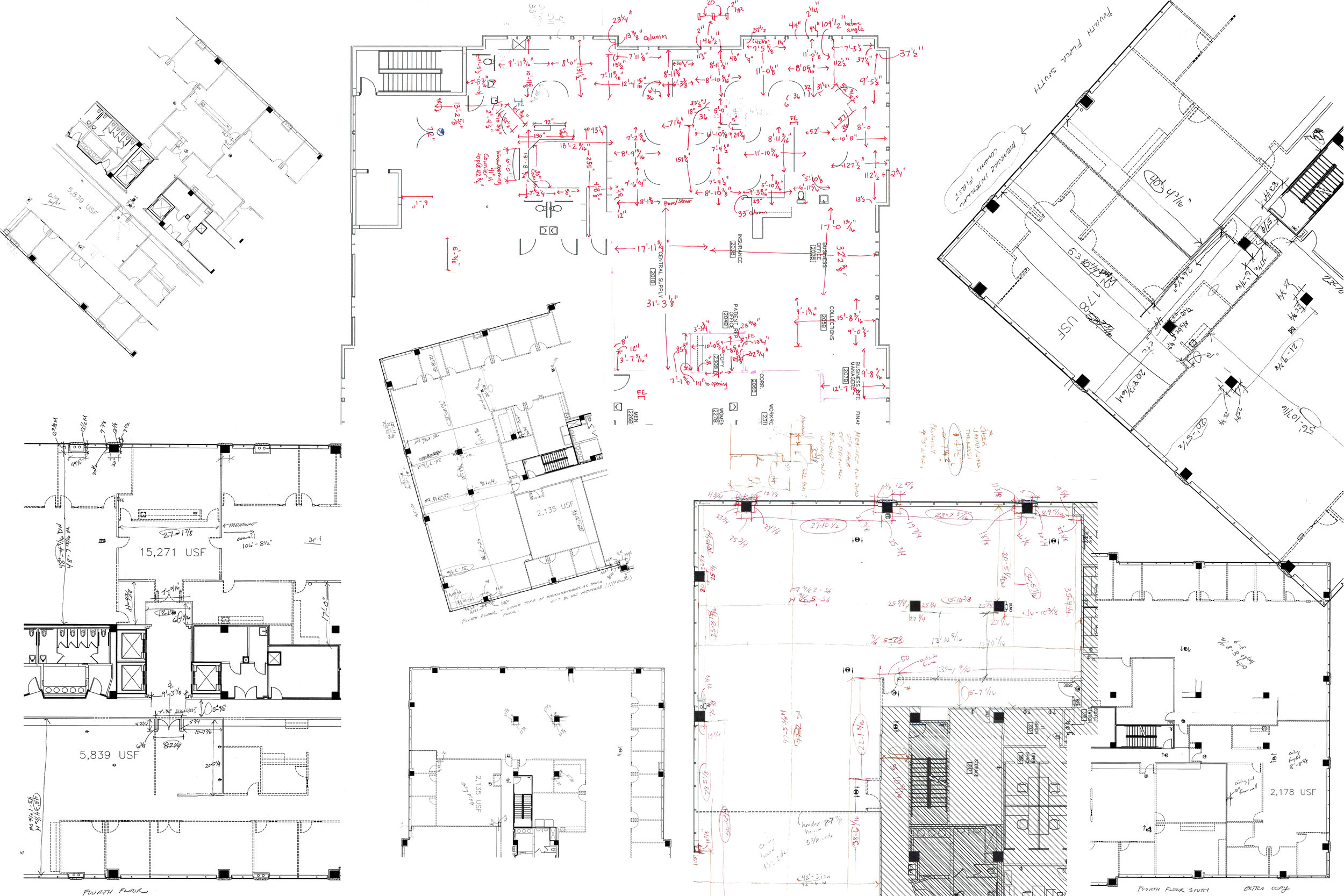 Field Measurement Documentation and Space Planning