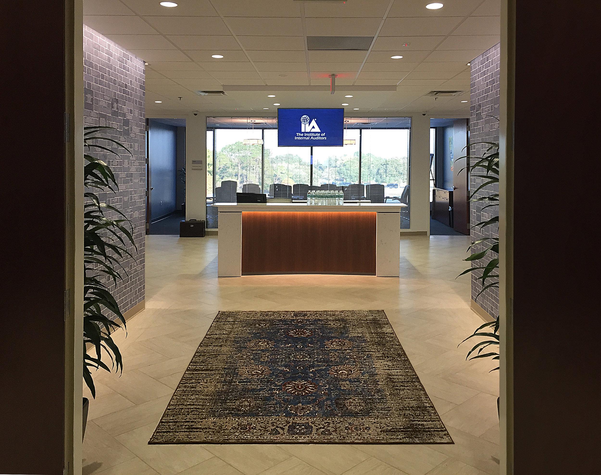 Reception Entry