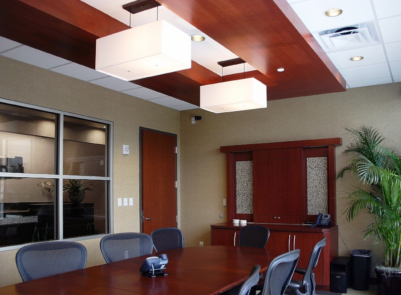 Conference Room With Custom Soffit