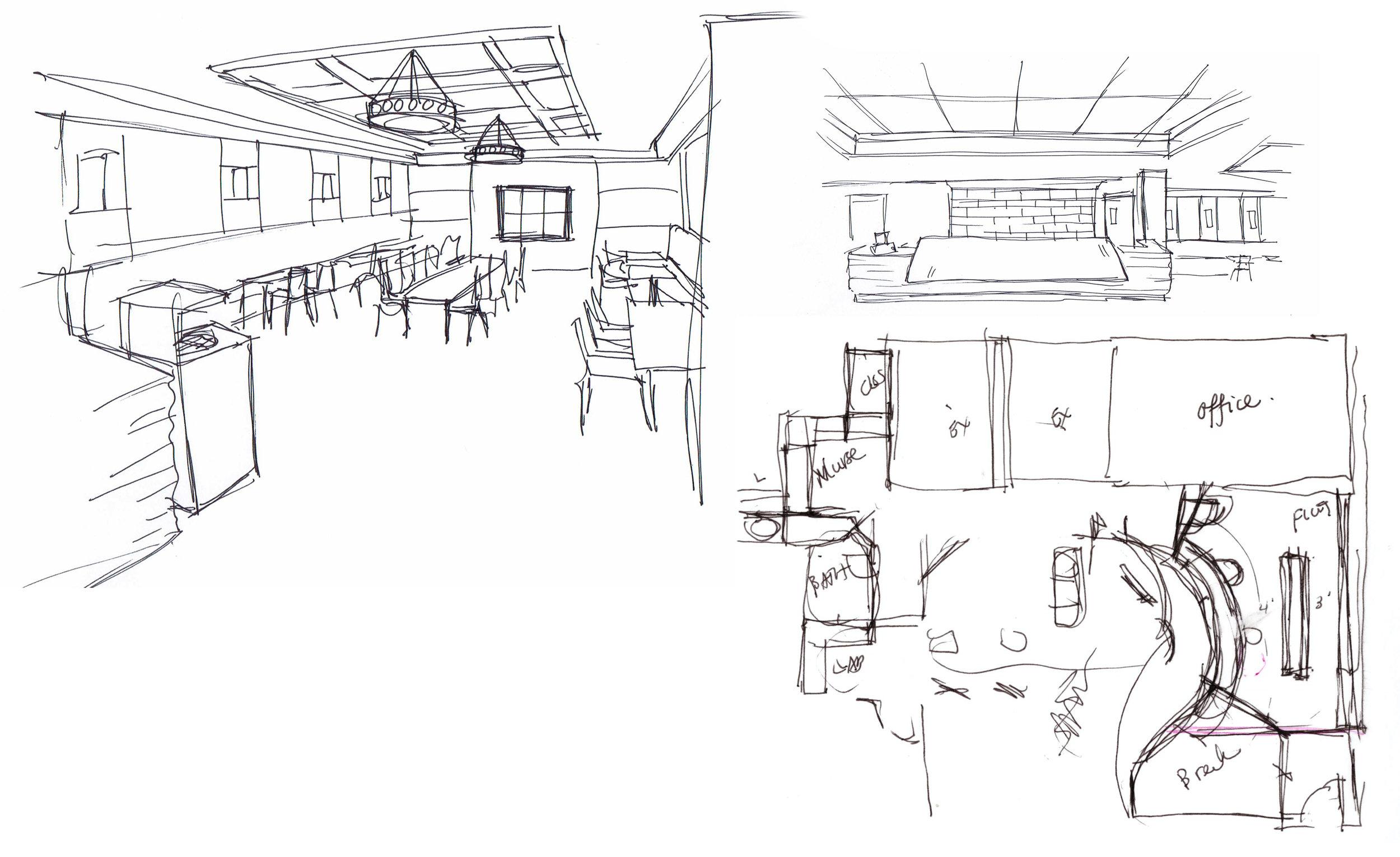 Conceptual Design Sketches