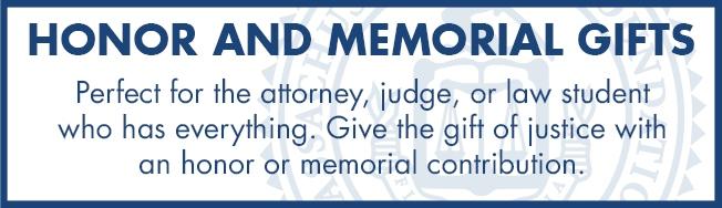 Honor or Memorial Gift