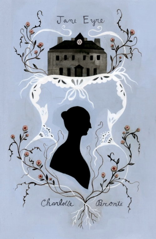 Sample cover illustration for  Jane Eyre  by Charlotte Bronte
