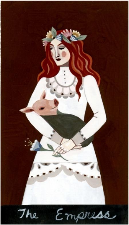 The Empress   Sample Tarot card