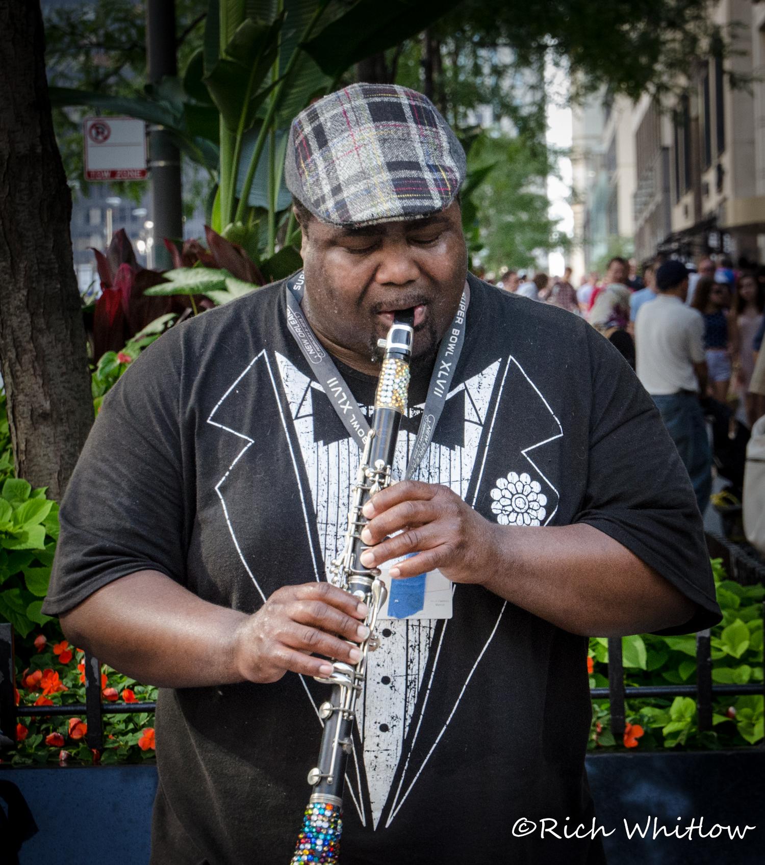 Street Clarinetist