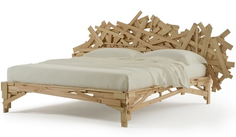 Campana beds by Fernando and Humberto Campana for Edra