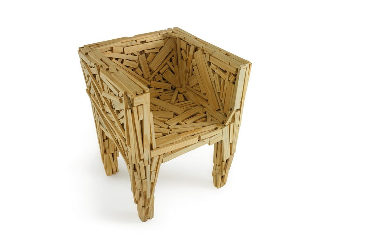 Favela Chair reproduced by Edra (2003)