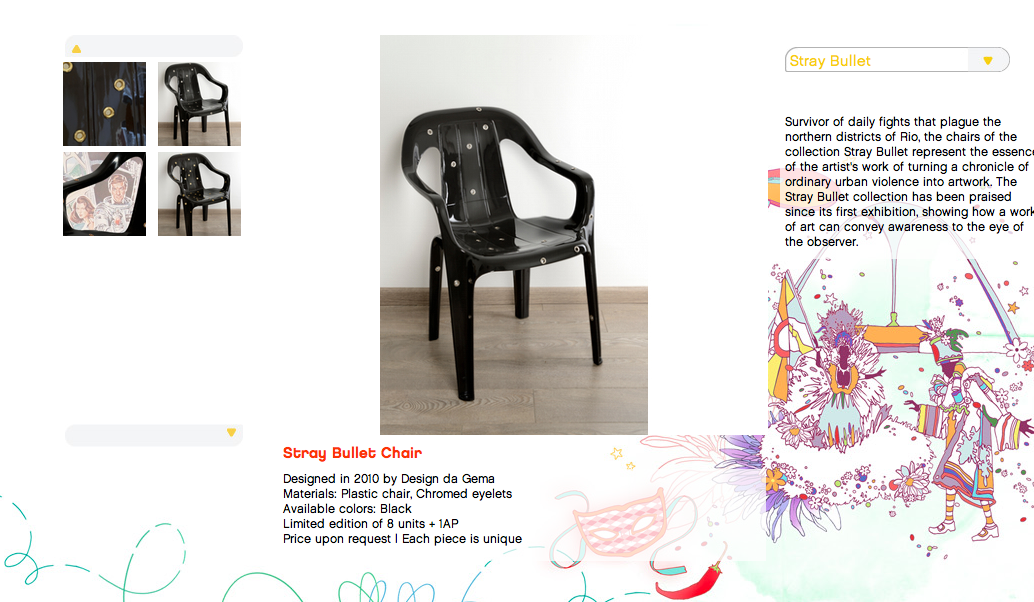 Design de Gema online catalog