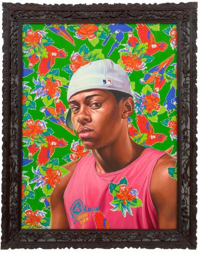"""Jonaton Schimitt Barcellos,   2008  Oil on canvas 48"""" x 36"""""""