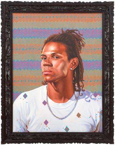 """Anderson S. da Fonseca,   2009  Oil on canvas 48"""" x 36"""""""