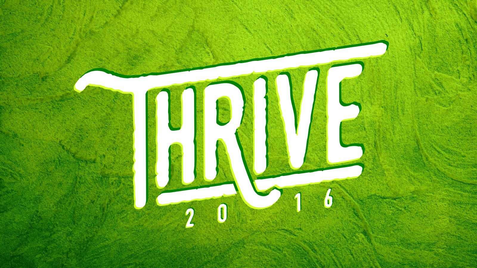 Thrive    January 2016