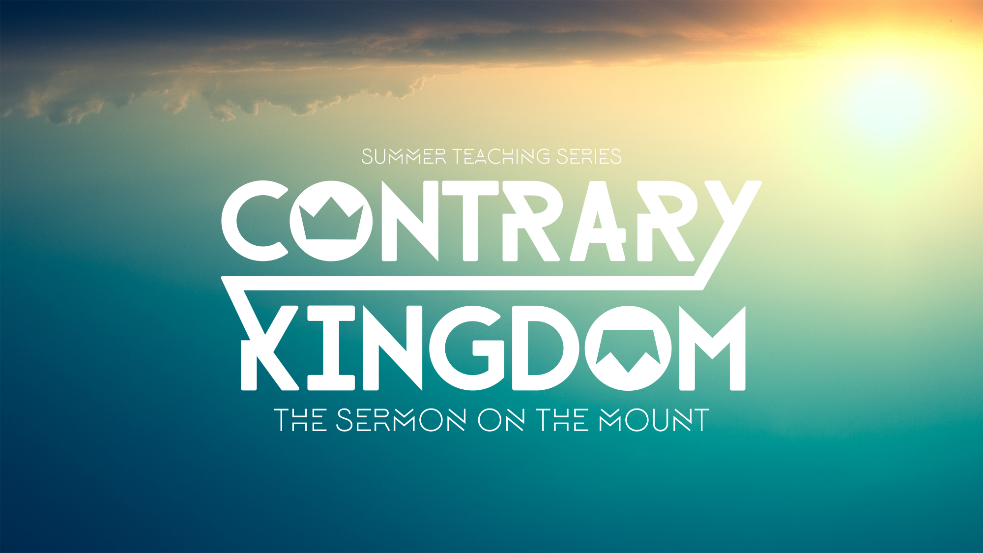 The Sermon on the Mount    June 2016 - August 2016