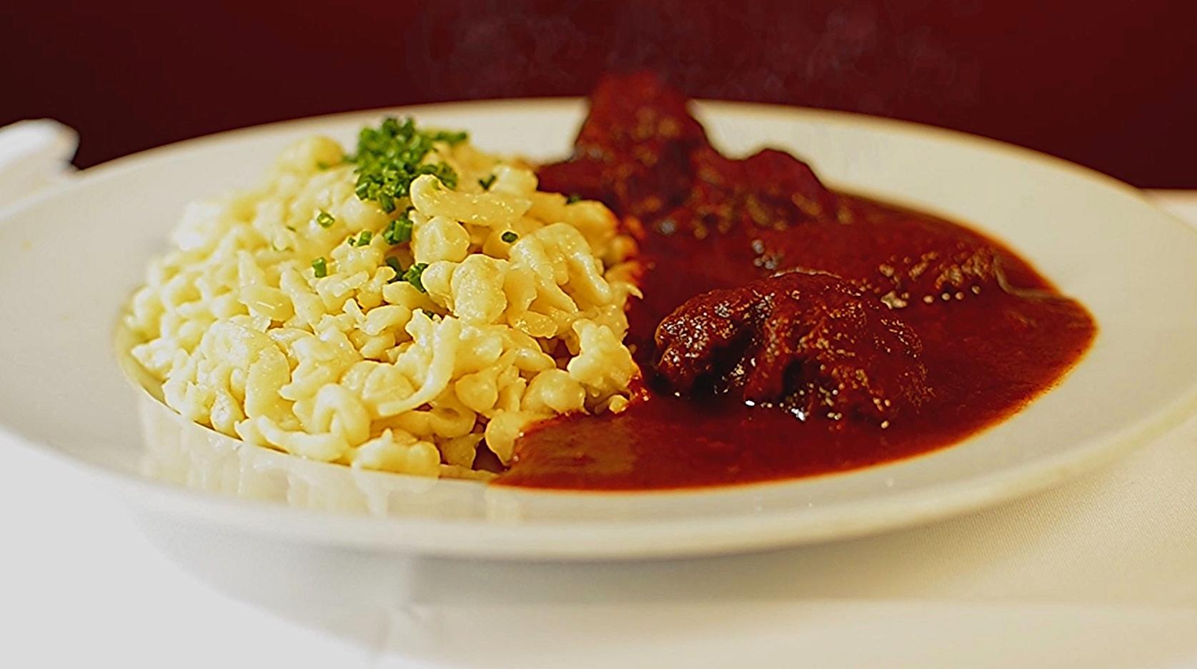 Goulash with Spätzle