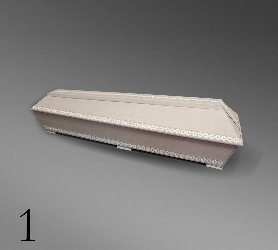 Pellava-arkku nro.1