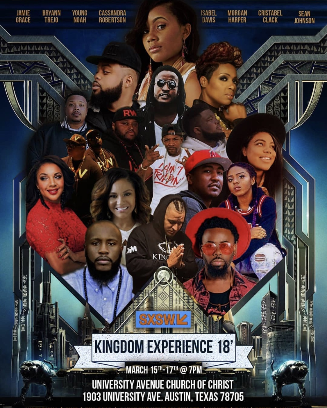 The Kingdom Experience Flyer